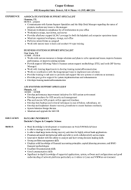 Customer Service Specialist Resume Systems Support Specialist Resume Samples Velvet Jobs 10
