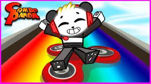ROBLOX Box Slide <b>down</b> a <b>Rainbow</b> on Fidget Spinner! Let's Play ...