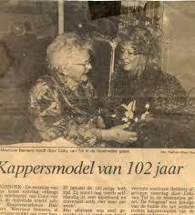 Uit De Oude Doos Ons Oudste Kappersmodel Kappersacademie Hair