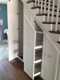 awesome Gorgeous Under Stair Storage look Charleston Transitional Staircase  Image Ideas with built-in storage
