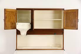 Hoosier Kitchen Cabinet Sold Hoosier 1915 Antique Oak Roll Top Kitchen Cabinet