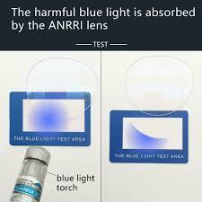 Anrri Blue Light Blocking Anrri Blue Light Blocking Computer Glasses Anti Eyestrain Anti Glare Lens