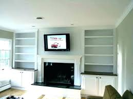 fireplace with shelving fireplace bookshelves shelving designs electric fireplace with bookshelves on each side