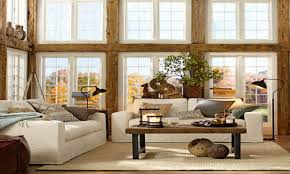 Pottery Barn Living Room Rustic Chic Decorating Ideas Pottery Barn Rustic Chic Living Room