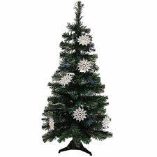 4u0027 PreLit LED Color Changing Fiber Optic Artificial Christmas Black Fiber Optic Christmas Tree