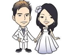 cute cartoon wedding couple pixshark images