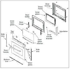 how oven door replacement seal with a view stove oven door