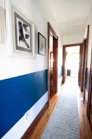 Pasillos Pintados De Dos Colores