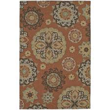 P Outdoor Area Rugs 8x10 Bohemian Medallion Cayenne Indoor  Rug 8 Cheap