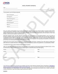 security deposit damages letter al 20 deposit 20 form publish yet form