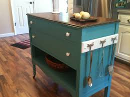 Repurposed upcycled dresser made into charming turquoise aqua ...