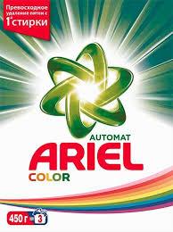 """<b>Стиральный порошок</b> Ariel """"Color"""" <b>автомат</b>, <b>450</b> г – купить в ..."""