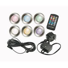 paradise landscape lighting. Paradise Plug In/ Remote LED Deck Light Silver 6 Watts Pk(GL28103SS6) Landscape Lighting