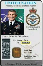 Created Fake Scams Used By Card Facebook Id And Un - Military Romance
