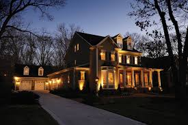 image of low voltage led outdoor lighting house