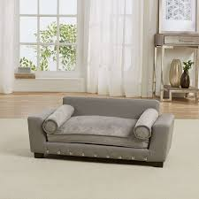 enchanted home pet grey scout pet sofa continue to the at the image