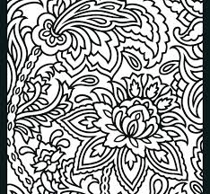 Coloring Pages With Designs Bohemian Patio Design Adult Coloring