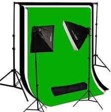 2000 watt photo studio lighting softbox light kit 10x10 ft background set sb bg1