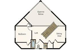compact cabin floor plans cabin floor plan plans loft