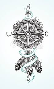 Arrow Compass Tattoo Tìm Với Google Hodiny Tetování Návrhy