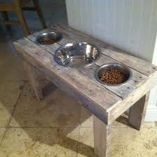 photo 5 of 10 dog bowl holders diy dog food bowl stand hubby s superb wooden