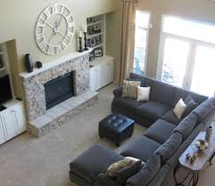 Warm Grey Living Room Living Room Ideas Contemporary Grey Couch With Upholstered Excerpt