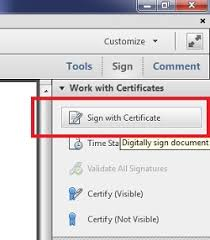How To Do A Signature How Do I Sign A Pdf Document With A Digital Signature Using Adobe