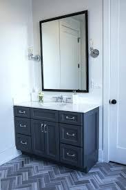 dark bathroom vanity blue cabinet wood units with white countertop
