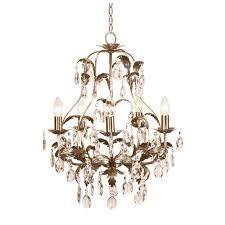 crystal brass chandelier
