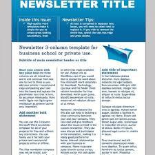 017 Template Ideas Microsoft Office Newsletter Resume Free Word