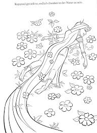 Small Picture Coloring Pages Of Tangled Disney Printable Coloring Pages Tangled