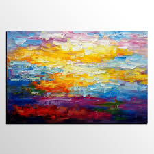 Painting Canvas For Living Room Abstract Painting Oil Painting Living Room Wall Art Canvas Art