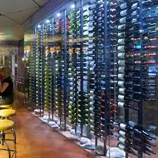 vintage view wine racks. Vintage View Wall Mounted 18 Magnum Bottle Wine Rack Black Metal Intended Racks