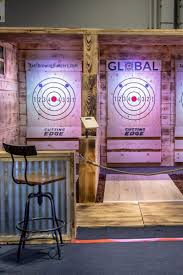 Builders Warehouse Indoor Lighting Professional Axe Throwing Lane Builders Add A High End