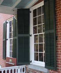 window shutters exterior. Plain Shutters Southern Shutter Company  DesignLine Paneled On Window Shutters Exterior E