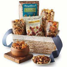 harry david popcorn nuts and dried fruit snack gift basket walmart