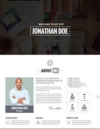 Personal Resume Website 100 Best WordPress Resume Themes For Your Personal Website 8