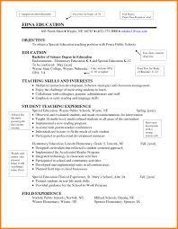 Cover Letter Example Of A Teacher Resume Http Www Resumecareer