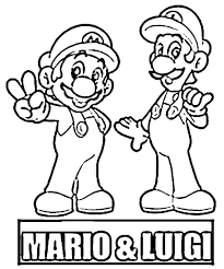 Mario Brothers Coloring Pages Bros Coloring Pages Free Coloring