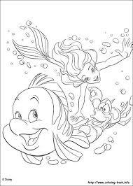 Küçük Deniz Kızı Boyama Oyunu Coloring Game 7