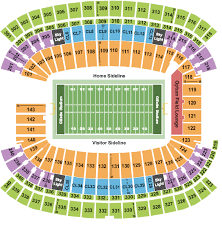 Gillette Stadium Seating Charts Rows Seat Numbers And