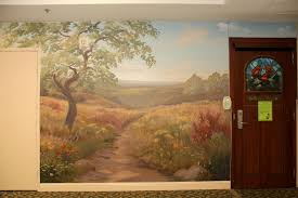maggies place soft california landscape wall mural
