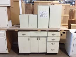 kitchen cabinet set 3 pc vintage