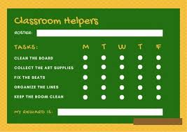 My Reward Board Yellow Books Classroom Reward Chart Templates By Canva