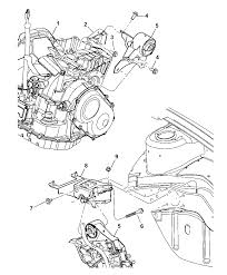 Dodge support engine mount 4668526ae plymouth neon engine mount diagram at nhrt info