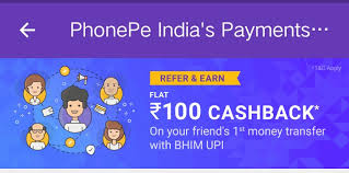 Use PhonePe for instant bank transfers & more! Earn ₹100 on your first money transfer on #PhonePe