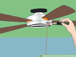 replace ceiling fan switch image titled replace a ceiling fan pull chain switch step 3 install replace ceiling fan switch