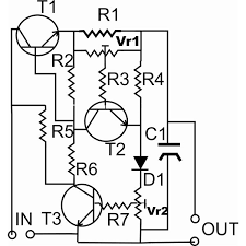 adjustable 1 to 25 volt dc power supplies circuit schematic on simple ac schematic