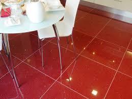 quartz red tile