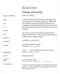 Web Design Resume Examples Resume Format For Web Designer Sample ...